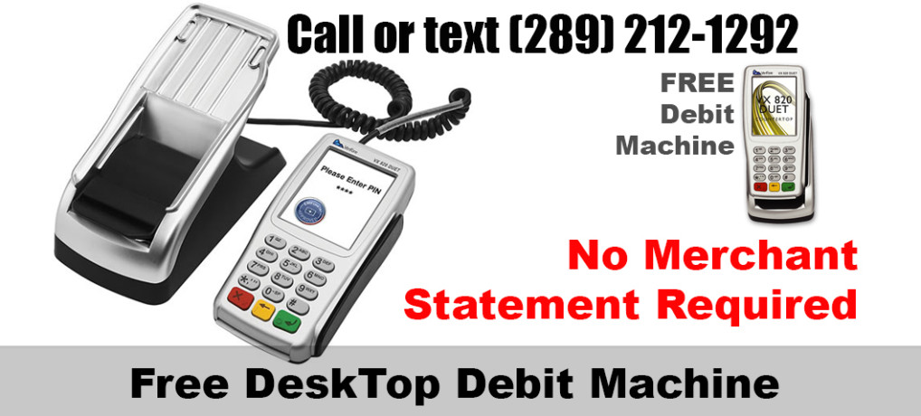 Free Debit Machine Canada